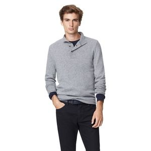Theory Mens Arthur H Cashmere Henley Sweater